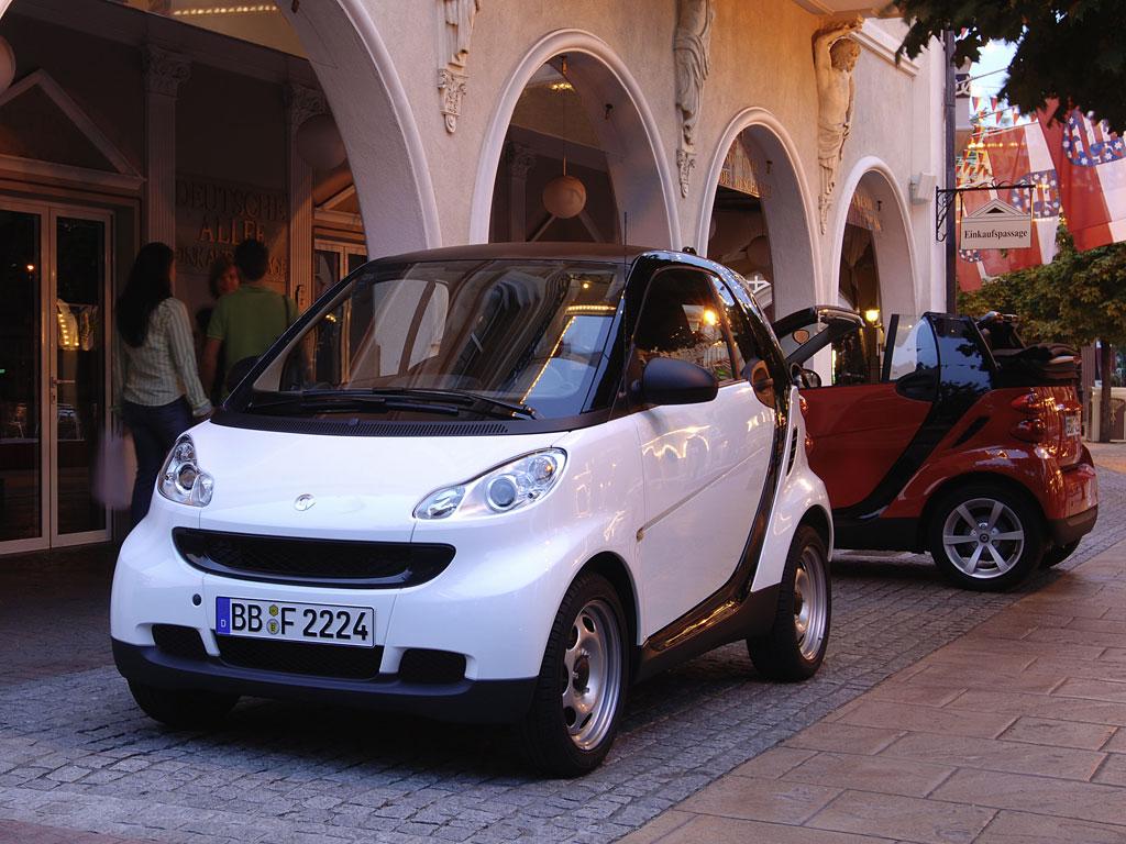 奔驰smart forwo 最低不足16万 4款进口个性车型